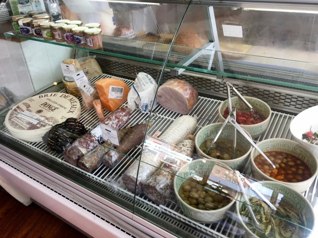 The Brockley Deli counter