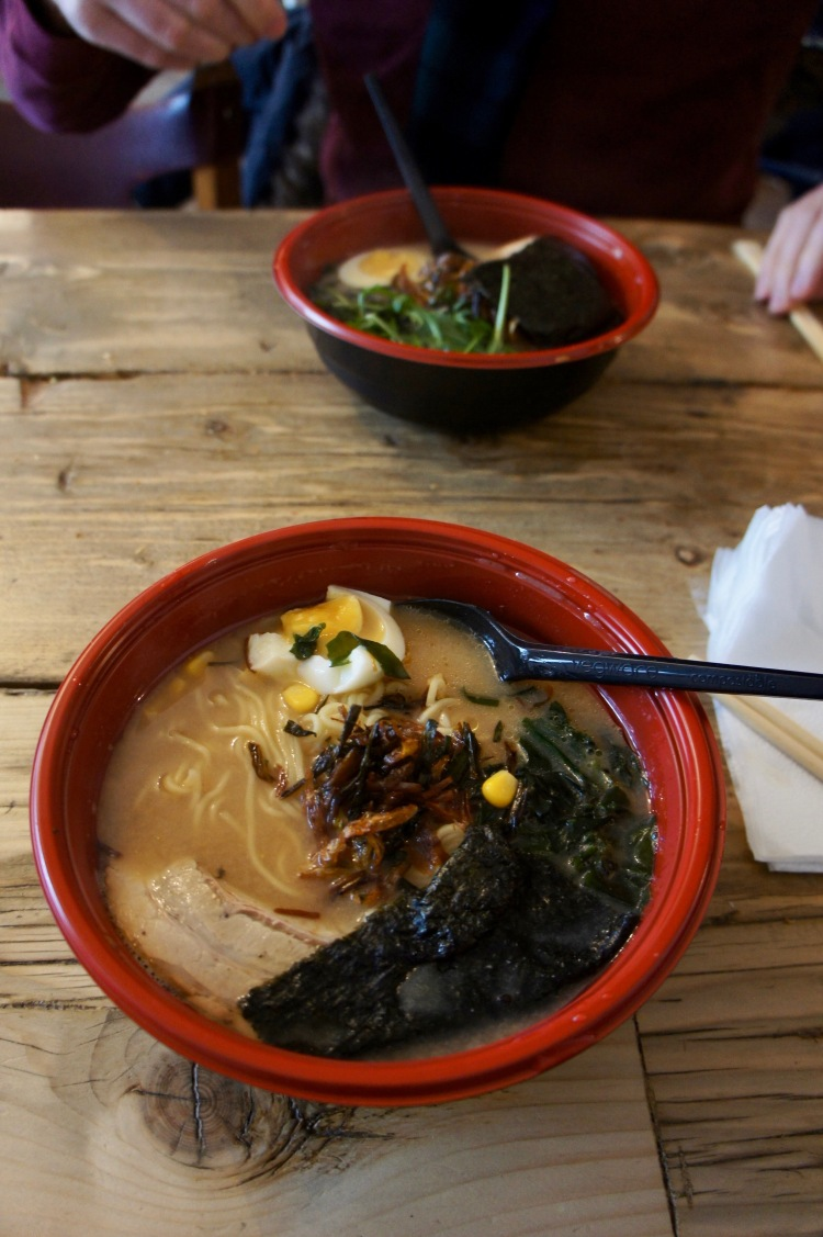 Ramen in Flat Iron Square
