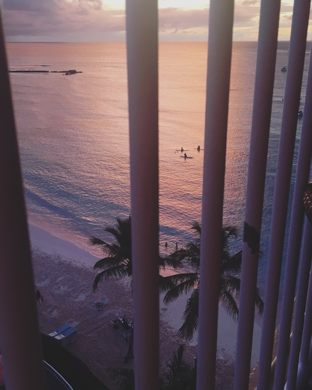 Sunset at the Radisson in Barbados