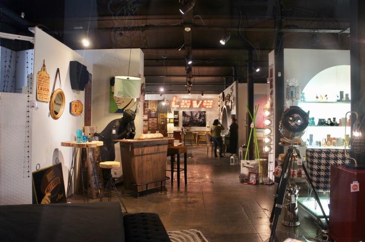 Vintage shop Lx Factory Lisbon