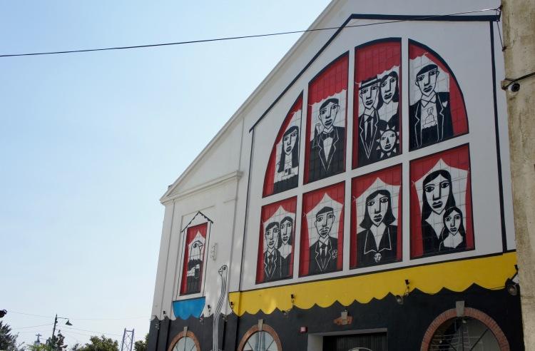 Street art Lx Factory Lisbon