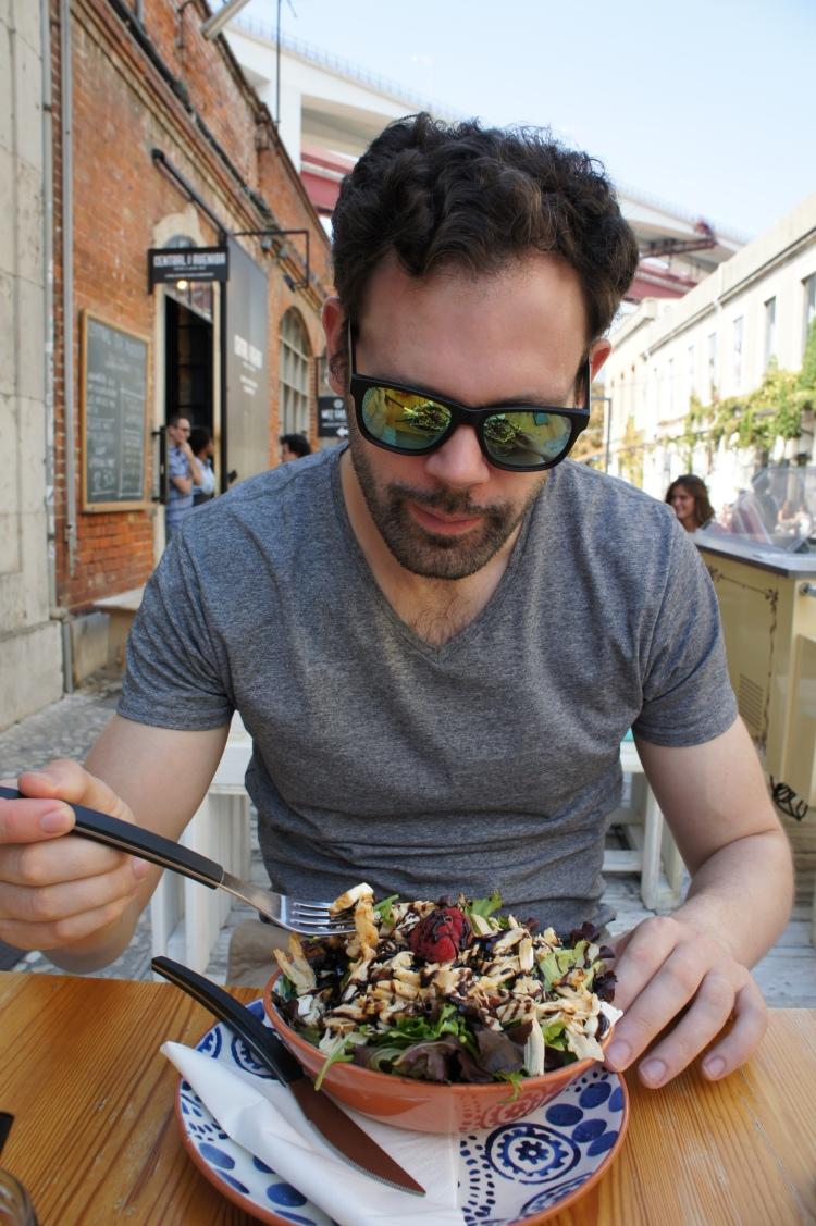 LXeeseCake salad Lisbon