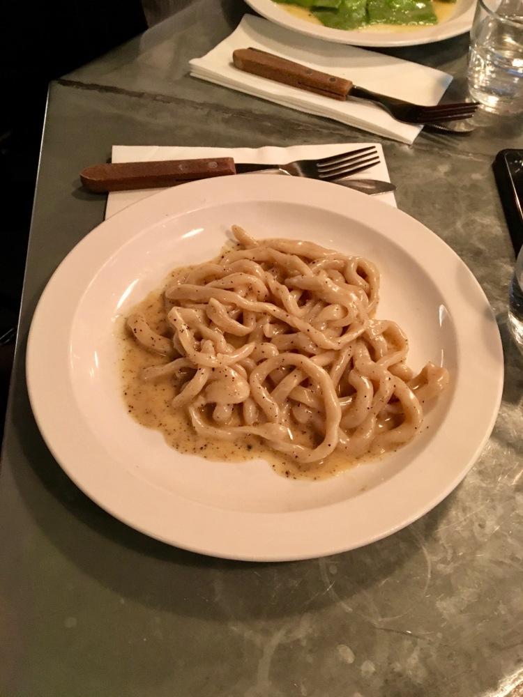 Pici cacio & pepe Padella London