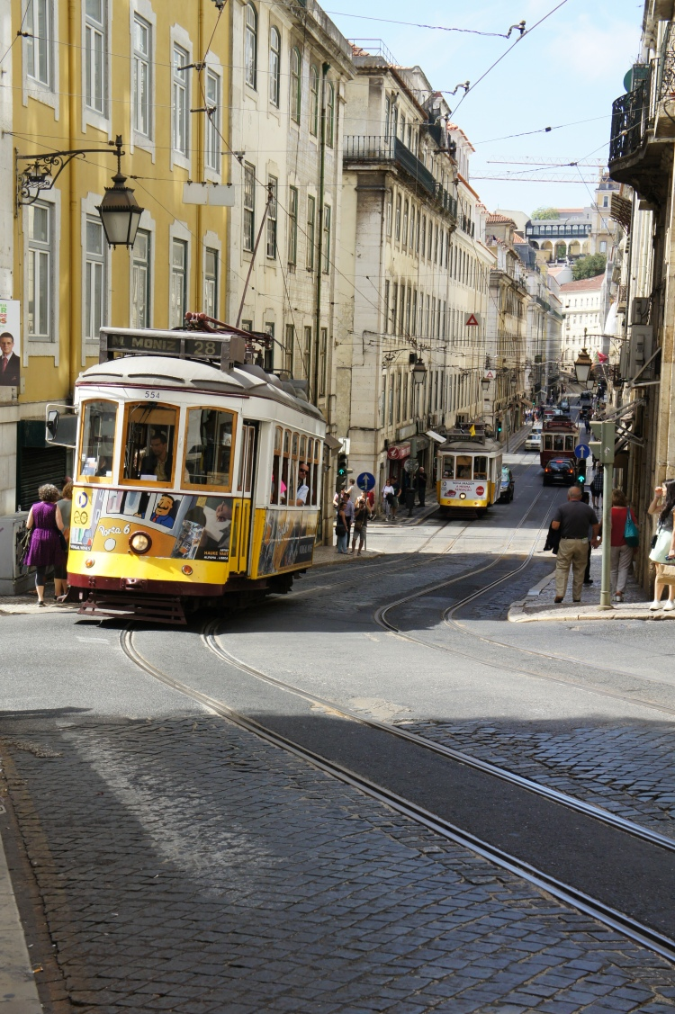 Tramways Alfama Lisbon