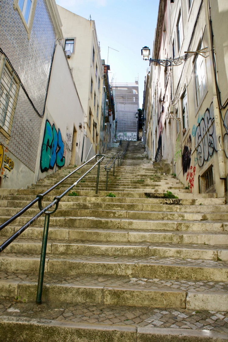 Alfama stairs