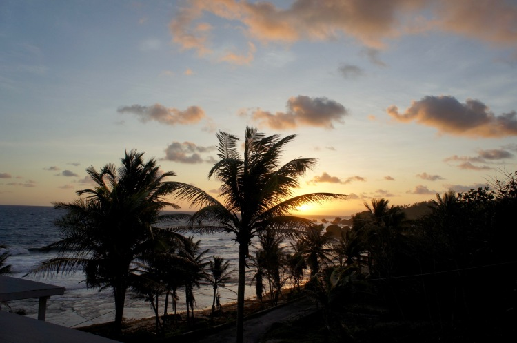 Sunrise in Bathsheba