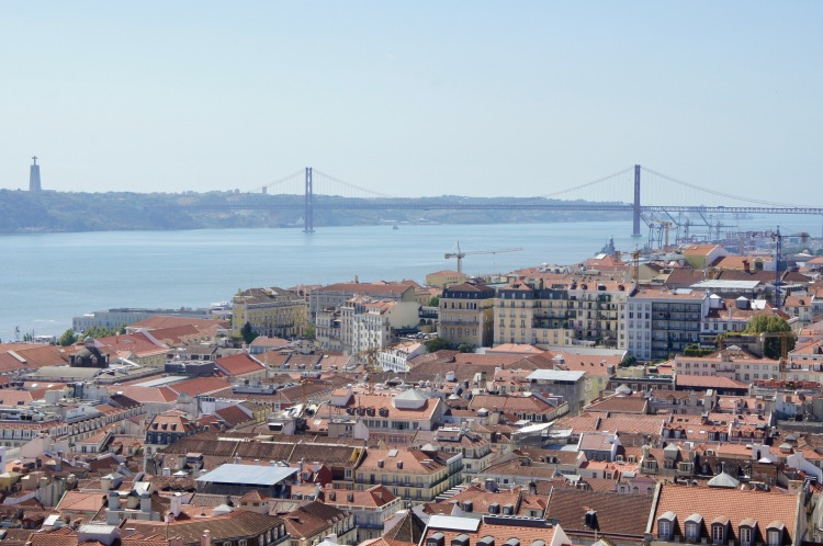 Castelo de San Jorge view Lisbon