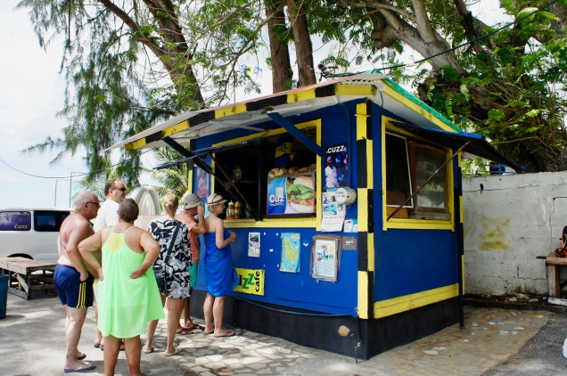 Cuz' Fish Stand Barbados