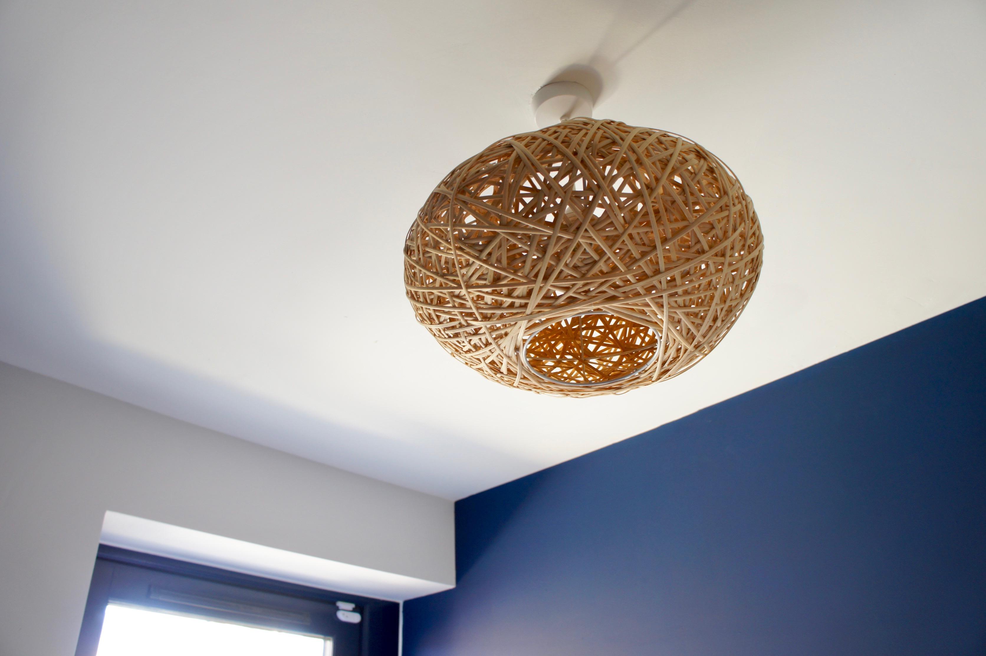 Rattan Ceiling Lamp Shade