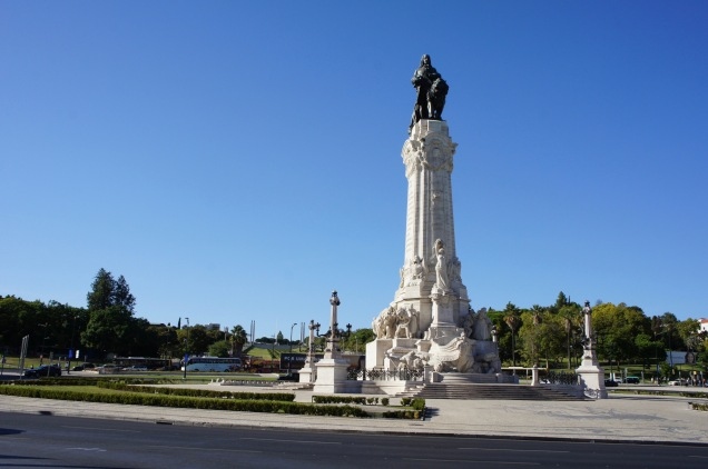 Marquess Pombal Statue Lisbon