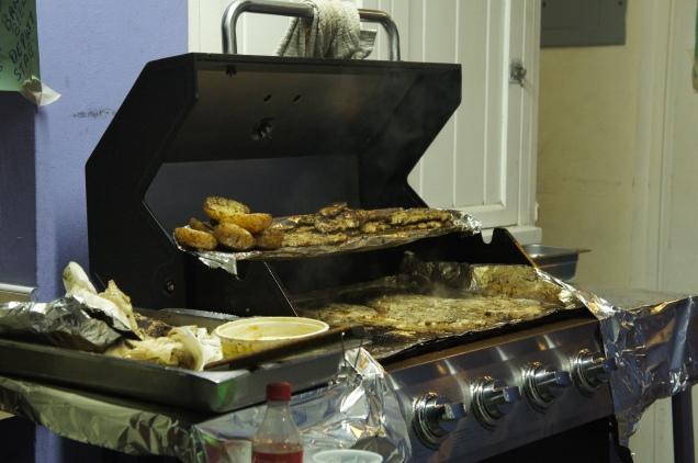 Oistins Fish Fry barbecue Barbados