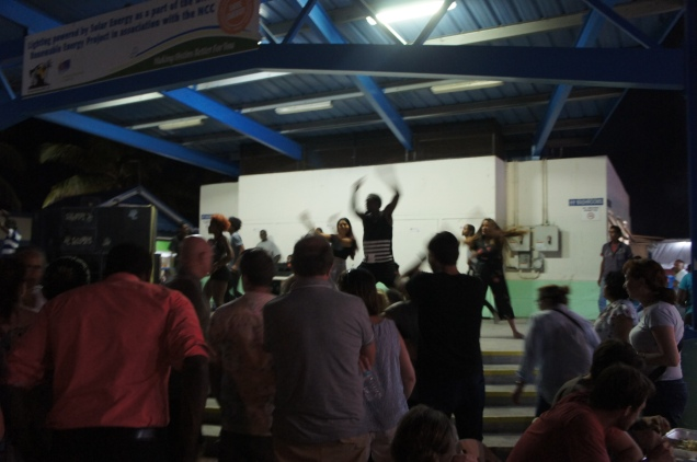 Oistins dancers Barbados