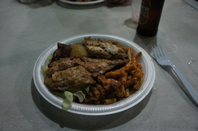 Oistins Fish Fry food Barbados
