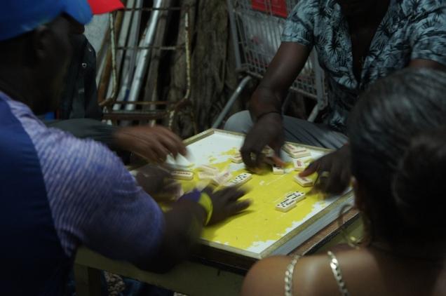Oistins dominos Barbados