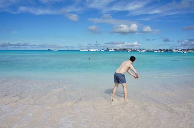 Skipping stones Pebbles beach