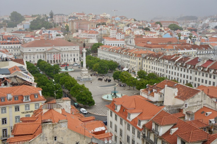 Praça Rossio Lisbon