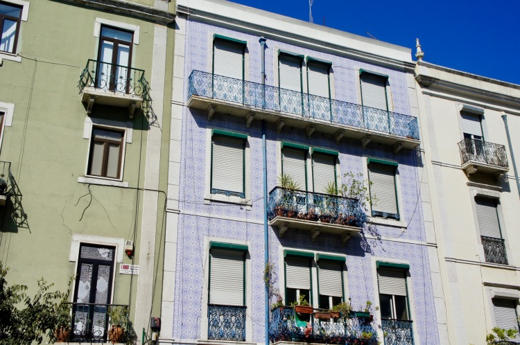 Tiled house Príncipe Real Lisbon