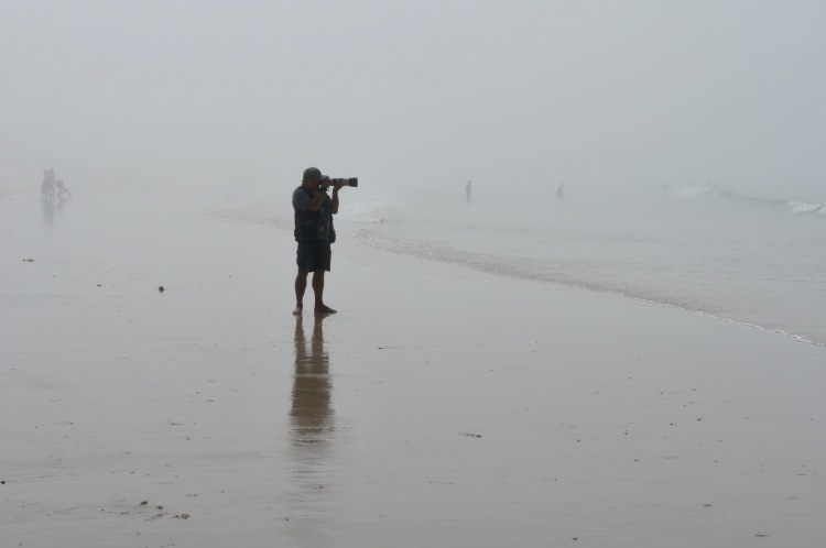 Photographer on Baleal Beach