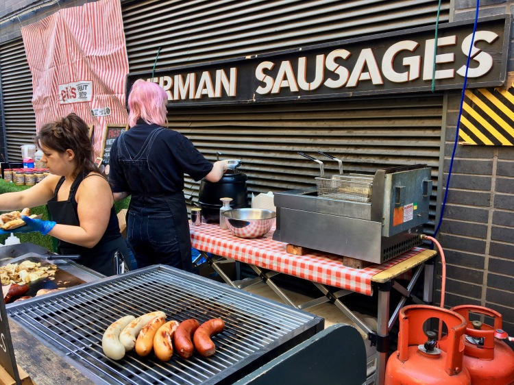 Maltby Street food stall