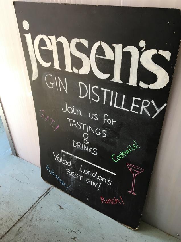 Maltby Street Jensen's Gin