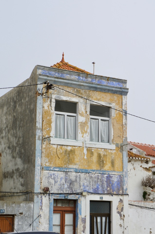 Old house in Peniche