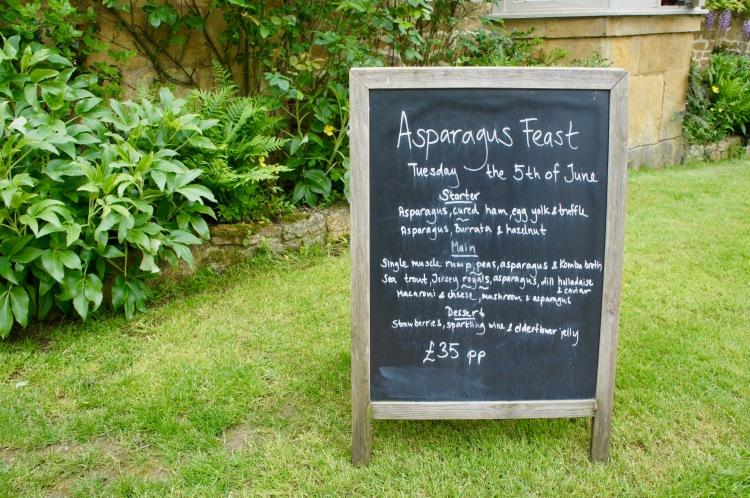 The Ebrington Arms asparagus feast