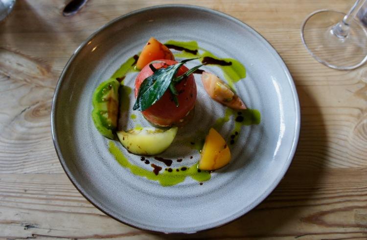 The Ebrington Arms tomato starter