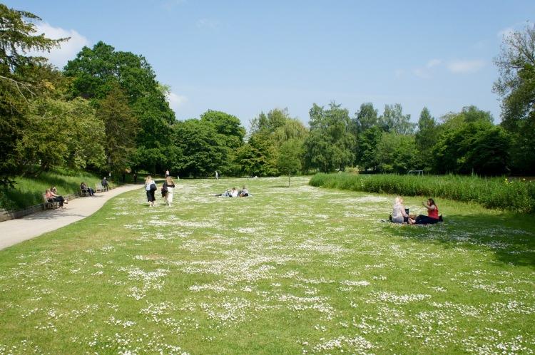 Jephson Gardens in RoyalLeamington Spa