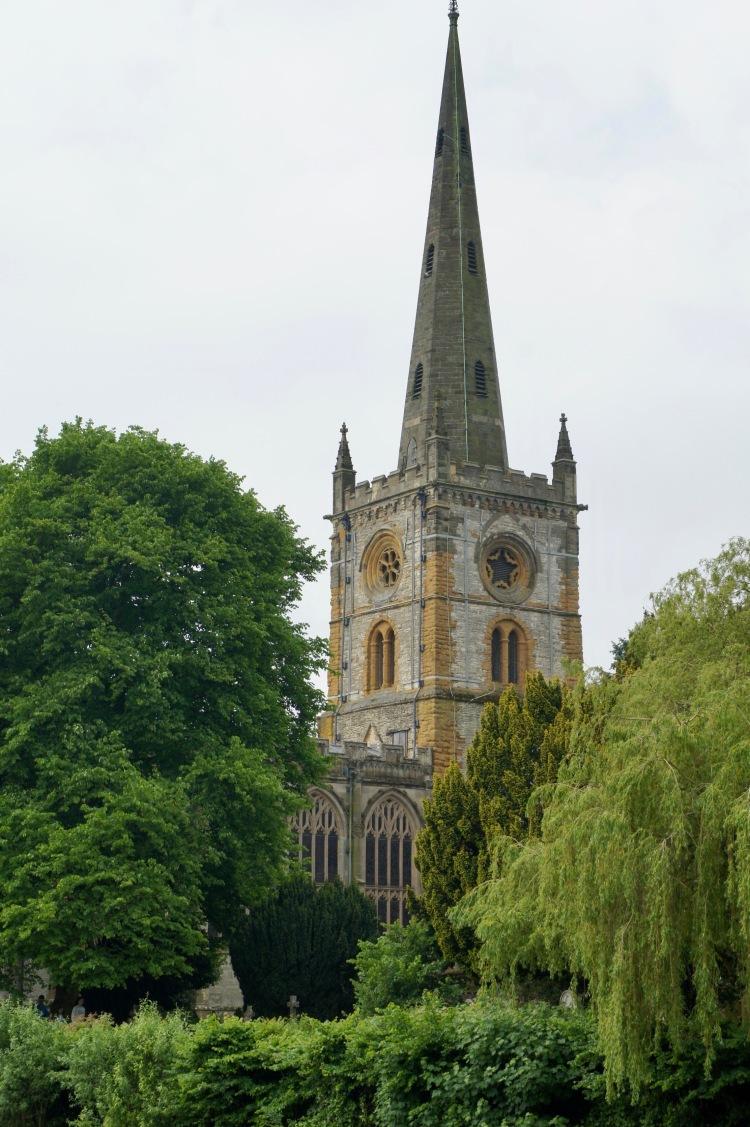 Holy Trinity church in Stratford-upon-Avon