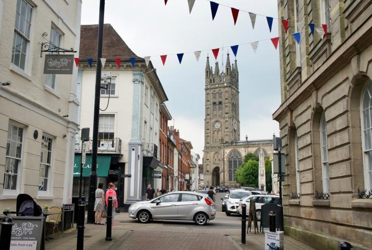 St Mary church in Warwick