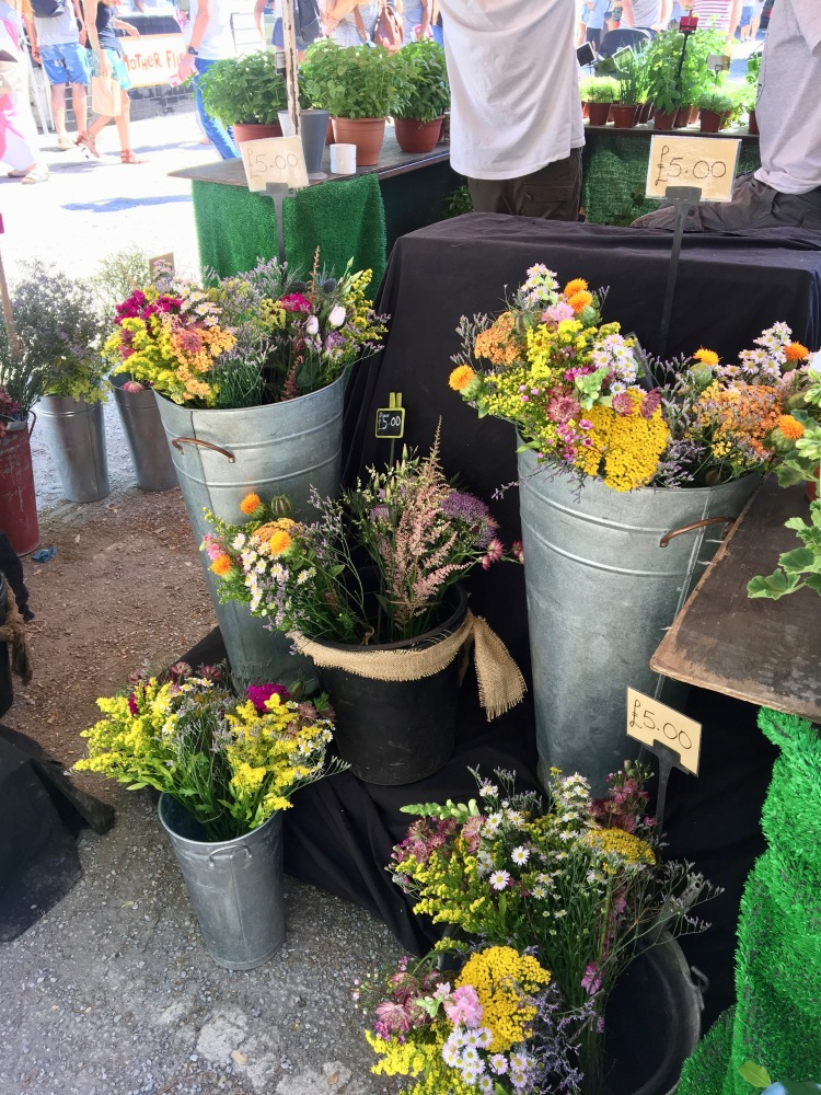 Flowers in Brockley Market