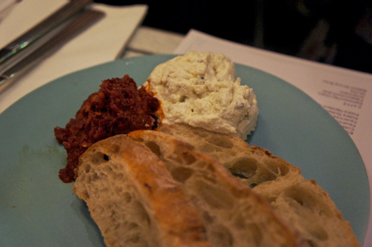 'Nduja and buffalo ricotta Lina Store
