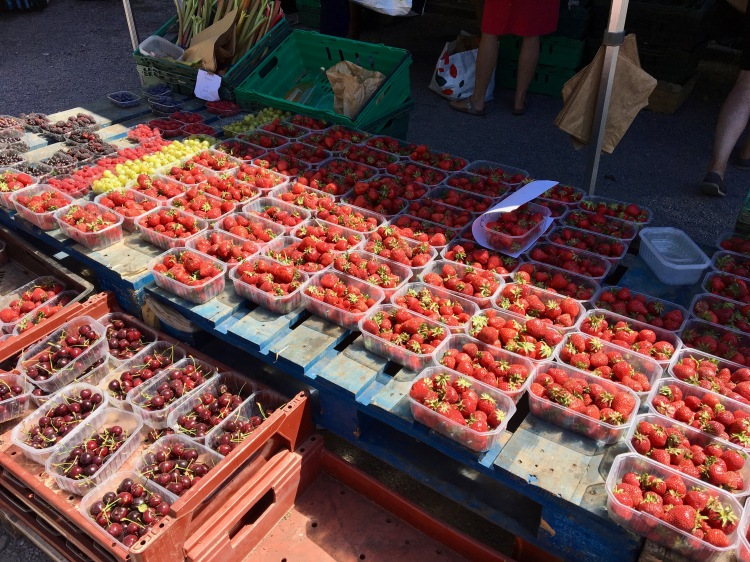Strawberries in Brokley Market