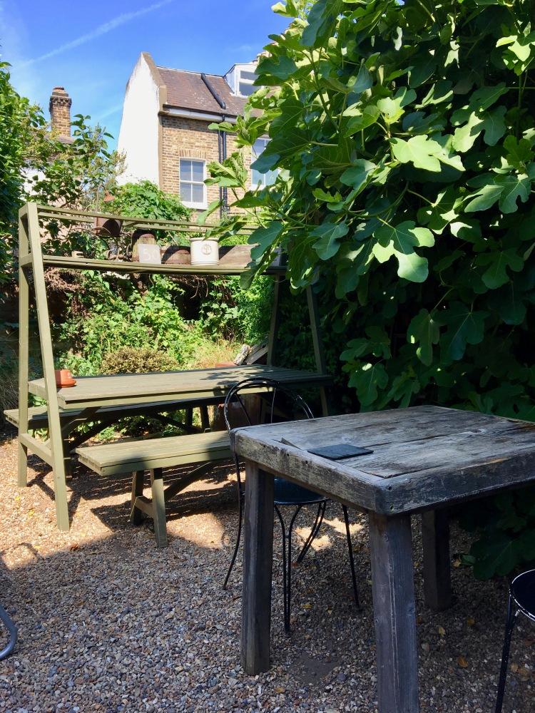 The Gantry garden