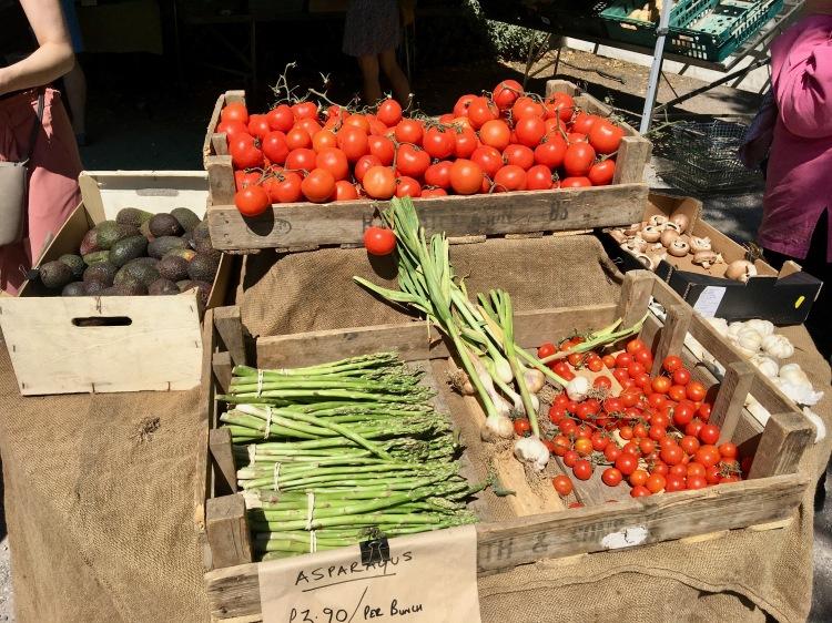 Vegetables in Brockley Market