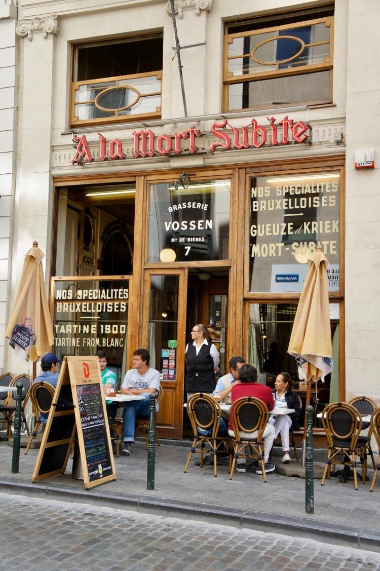 Mort Subite Bar in Brussels