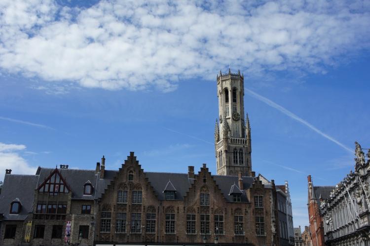 Markt place Bruges