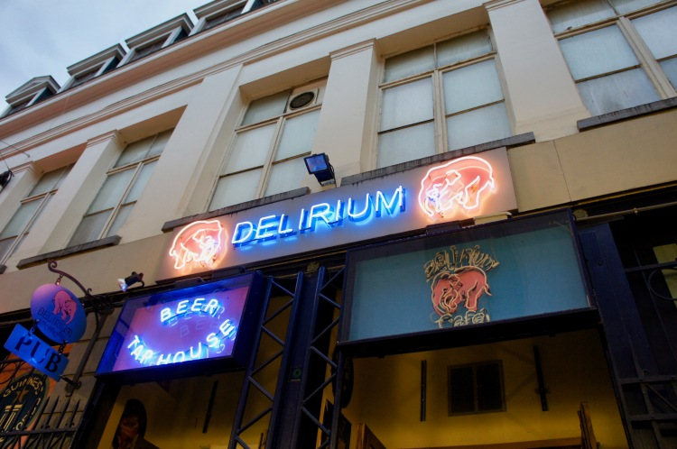 Delirium Bar in Brussels