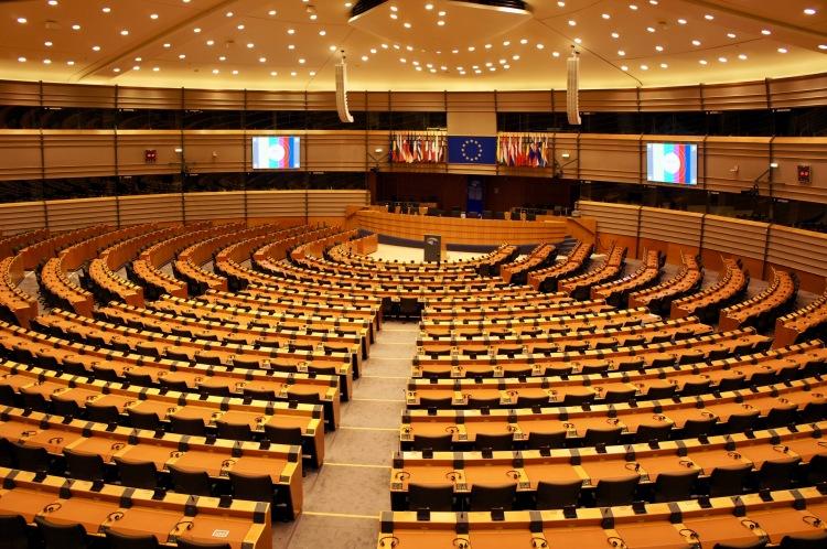 Amphitheatre European Parliament Brussels