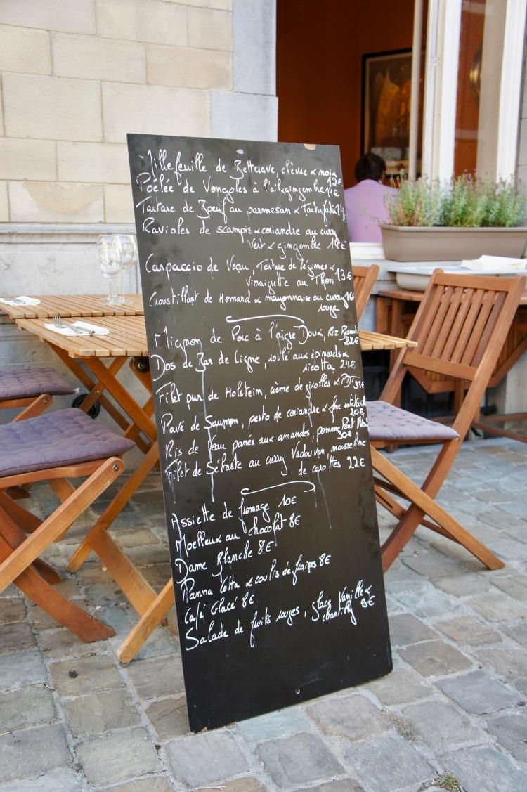 L'Ivre De Cuisine menu