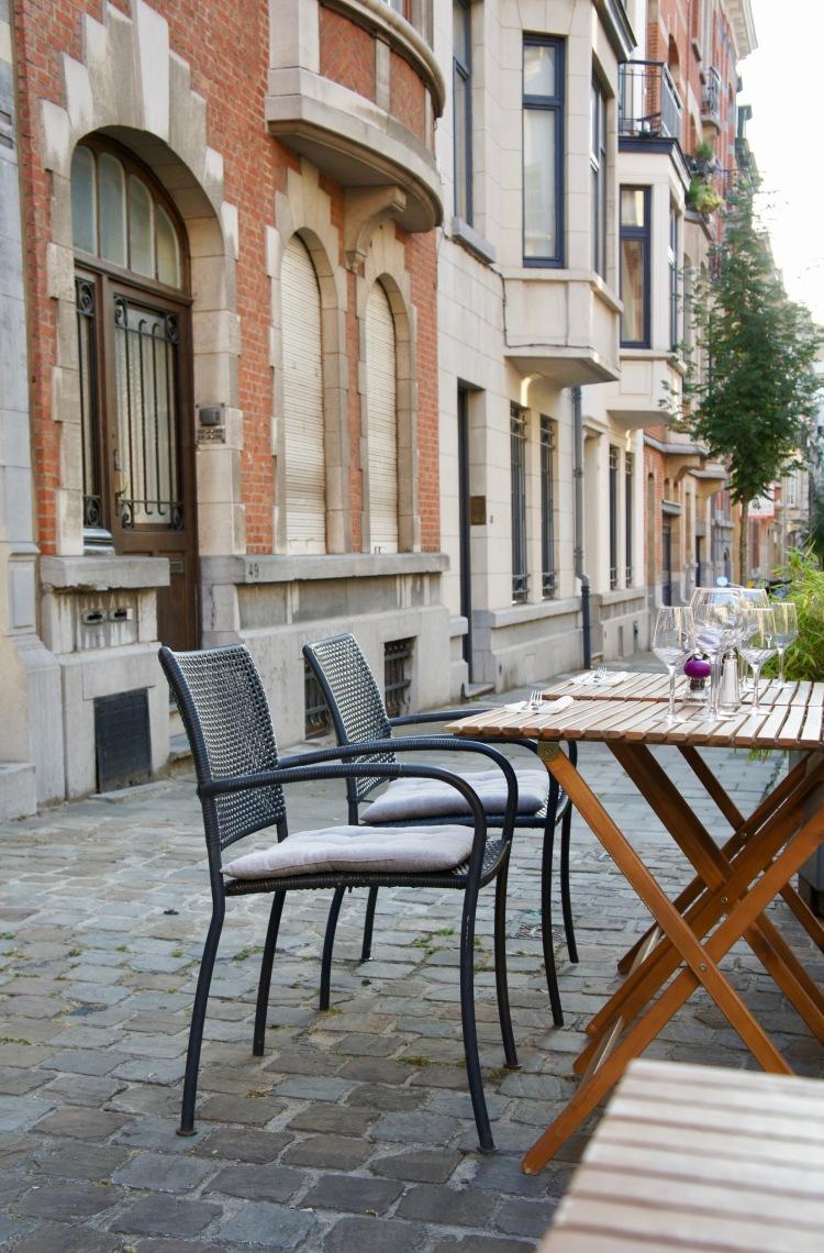 L'Ivre De Cuisine terrace