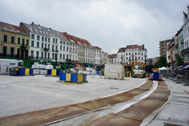 Place Jourdan Brussels