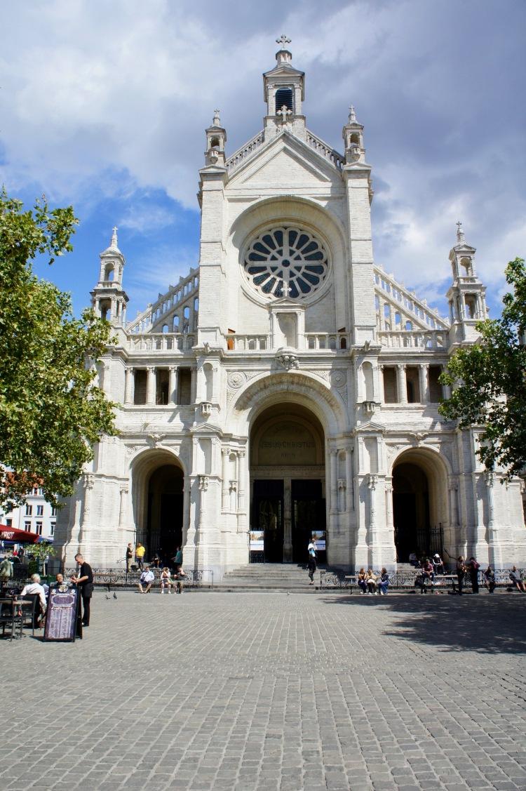 Place Sainte Catherine Brussels