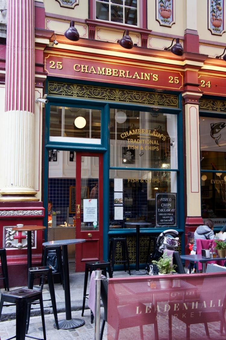 Chamberlain's in Leadenhall Market