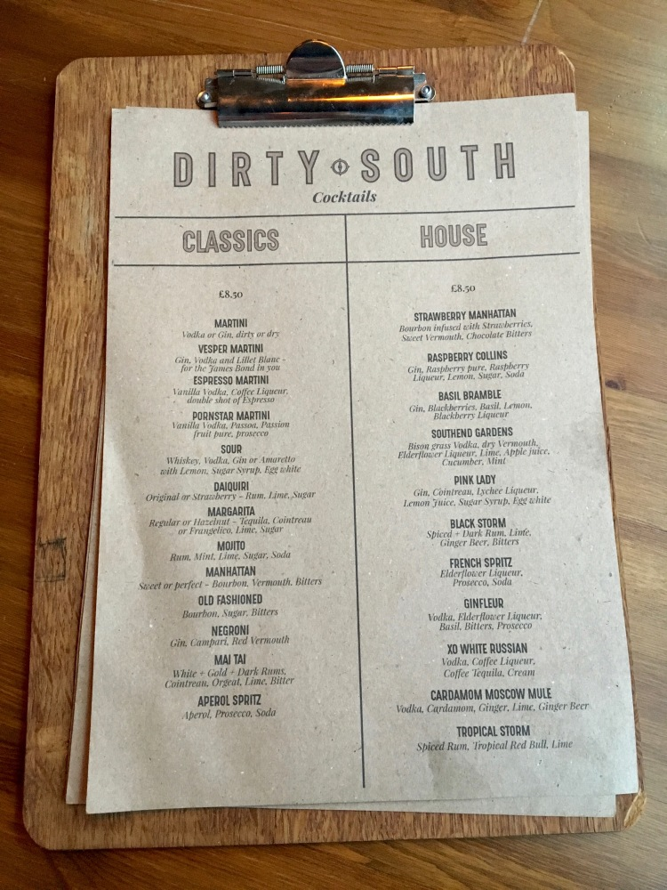 Dirty-South-Cocktail-menu
