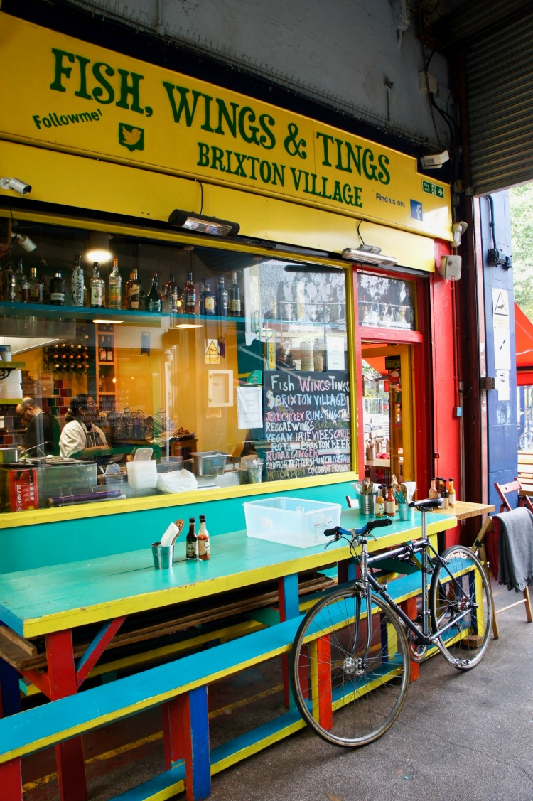 Fish, Wings & Tings in Brixton Market