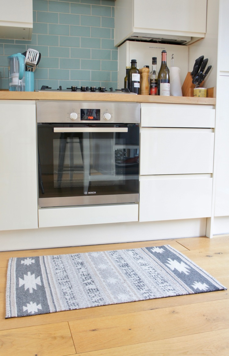 TK Maxx rug - 5 tips to easily save money when decorating your home