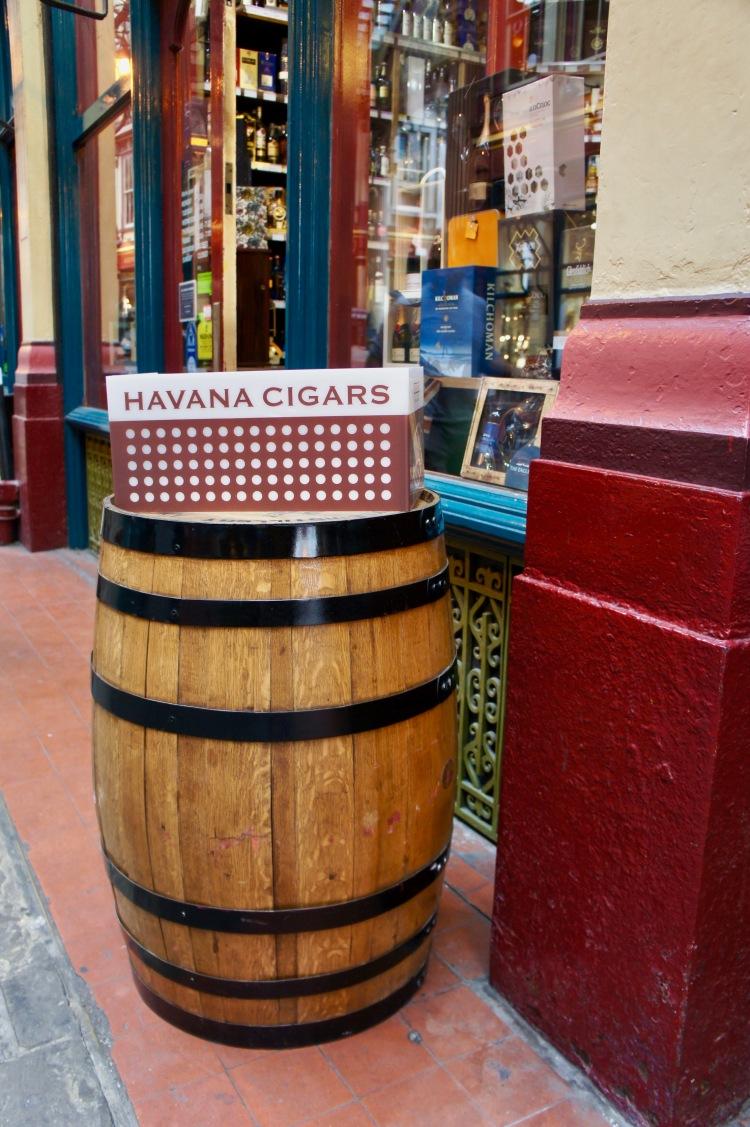 Cigars in Leadenhall Market