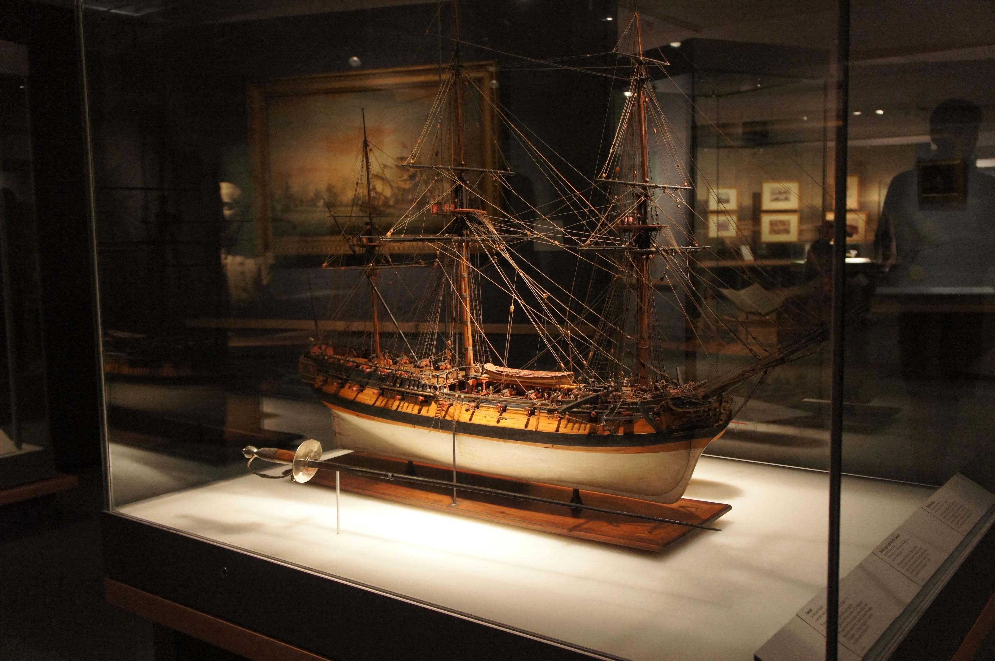 The Atlantic at The National Maritime Museum