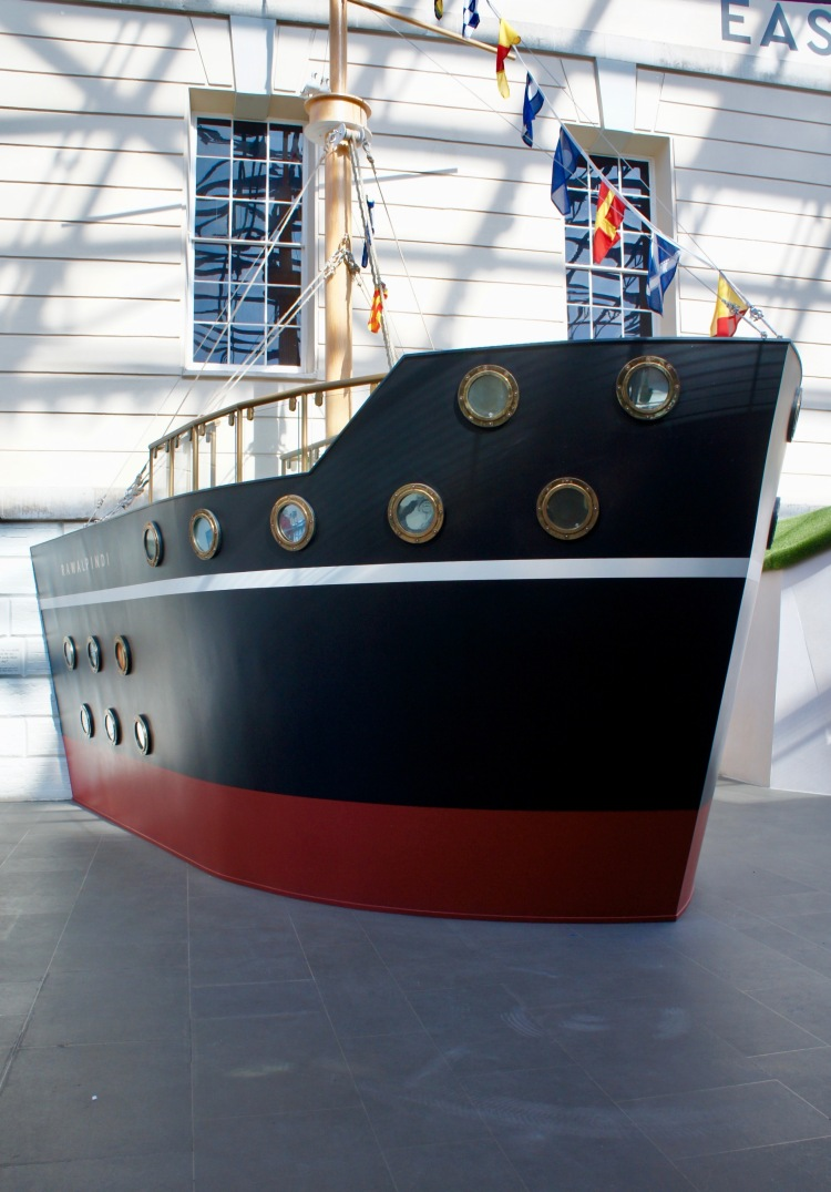 Boat at The National Maritime Museum